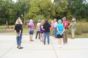 Photos from the September meeting & bird walk